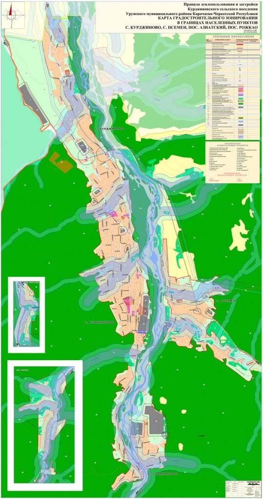 Лист 2 Карта градостроительного зонирования в границах НП