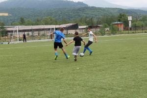 Футбол посвященный 9 мая.