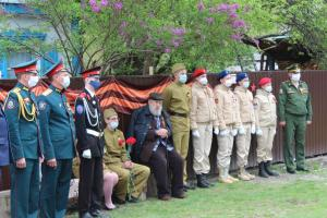 9 мая, поздравление ветеранов
